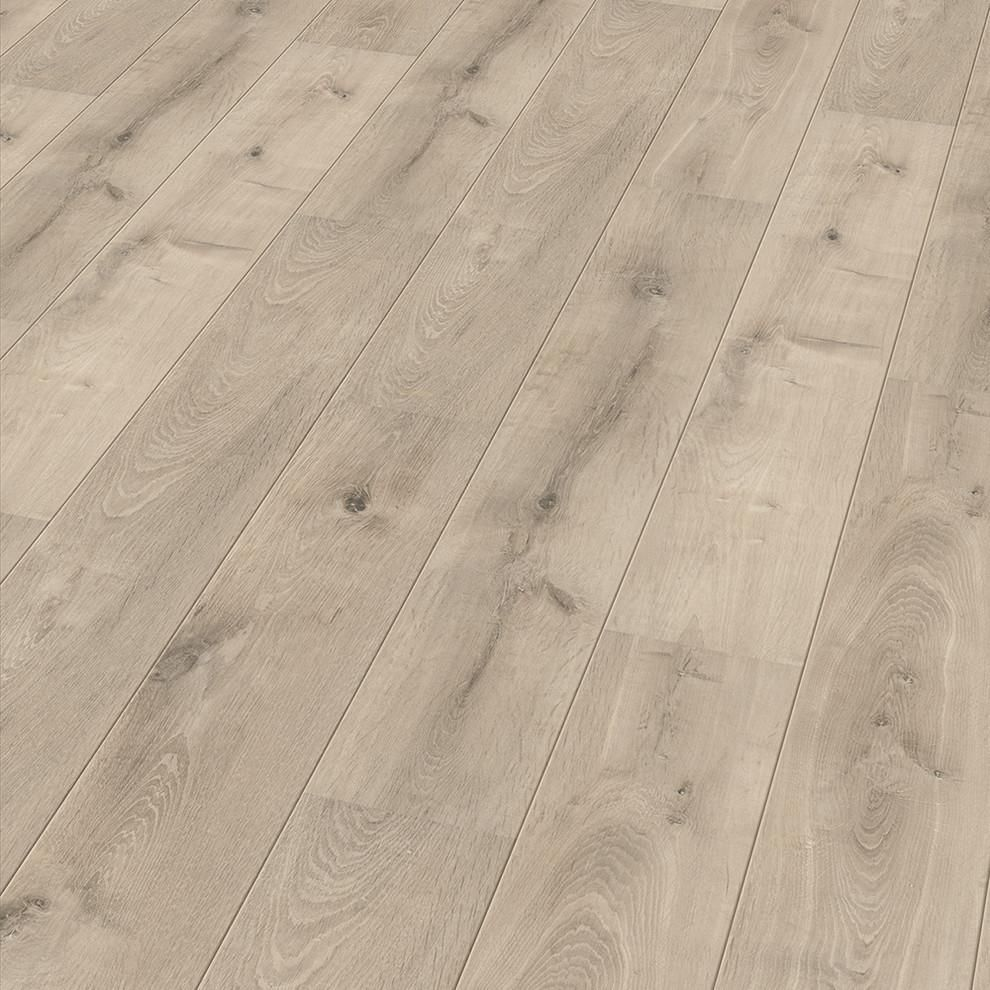 Contour floor round bevel satin oak wood matte laminate floor per
