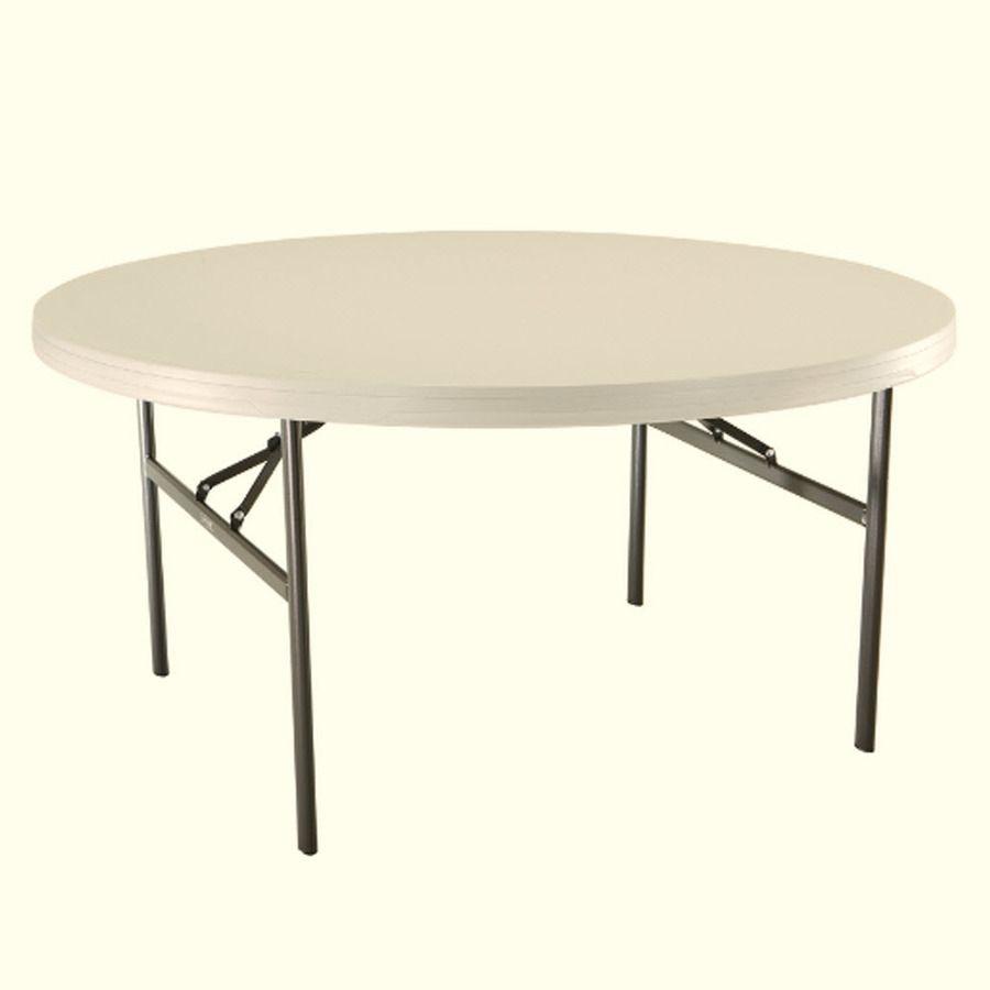 Lifetime 60 Round Folding Tables