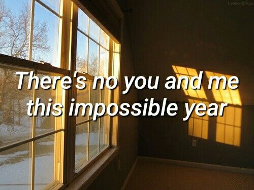 Impossible Year by Panic! At the Disco  [ @houseofpizza ]