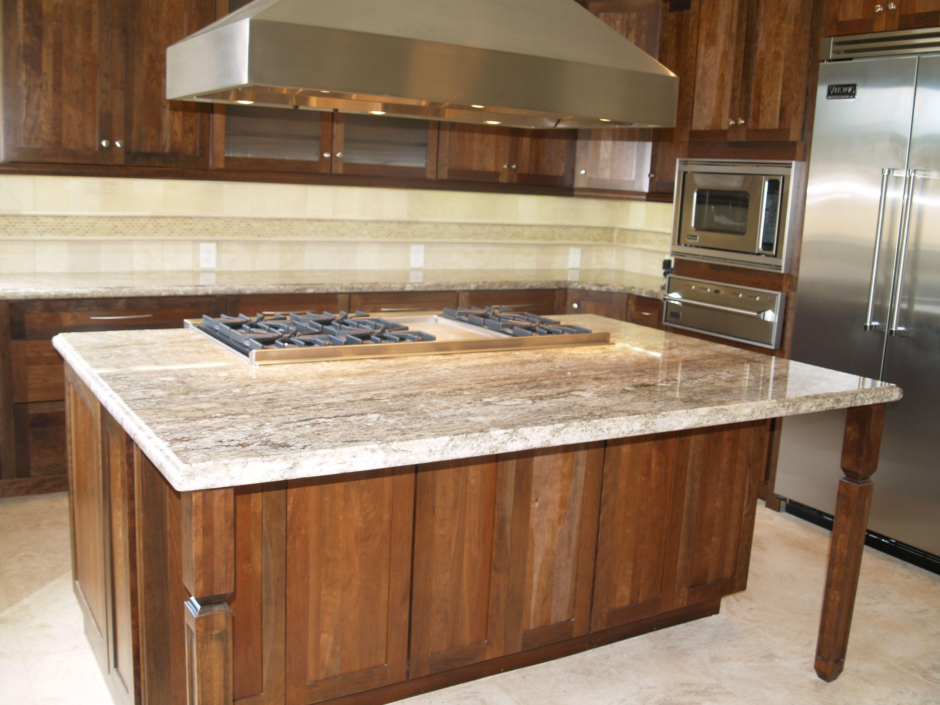 Granit Kuche Insel Kuchen Granitarbeitsplatten Holz Kucheninsel Grosse Kucheninsel