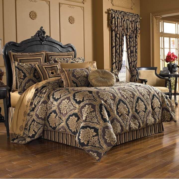 37 West Reilly 4 Piece Comforter Set Comforter Sets King Comforter Sets Luxury Bedding