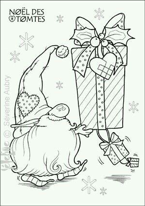Pin By Joke Van Haeren On Risunki Christmas Coloring Pages Christmas Gnome Christmas Colors