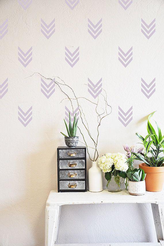 les pochoirs tu connais d co avec washy tape pinturas de pared decorar paredes et casas. Black Bedroom Furniture Sets. Home Design Ideas