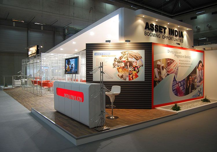 Custom Exhibition Stall For India Banking Association Asset At Austria Check Our