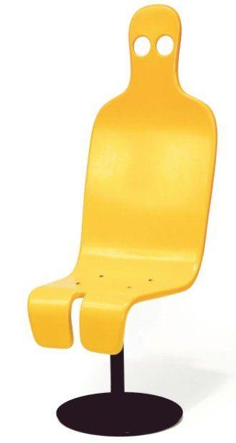 ROGER TALLON (NÉ EN 1929) Rare chaise