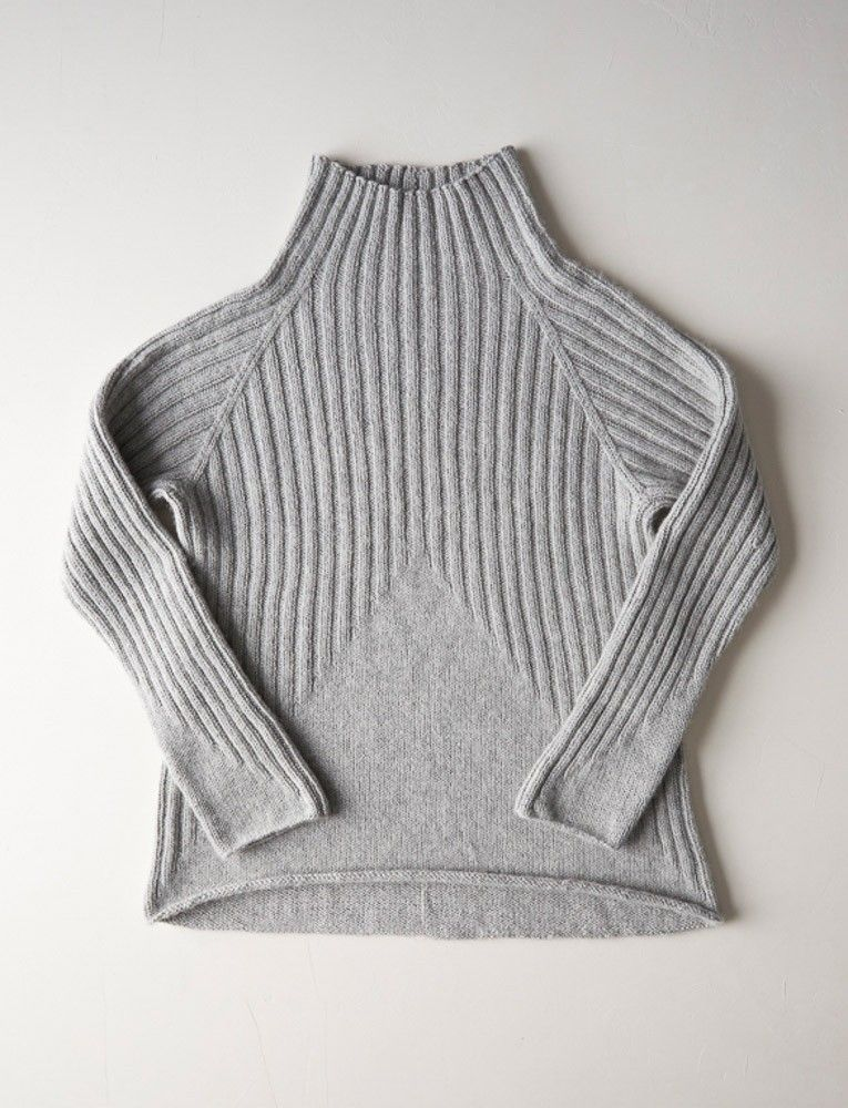 Photo of Purl Soho Peaks Pullover Pattern, pdf