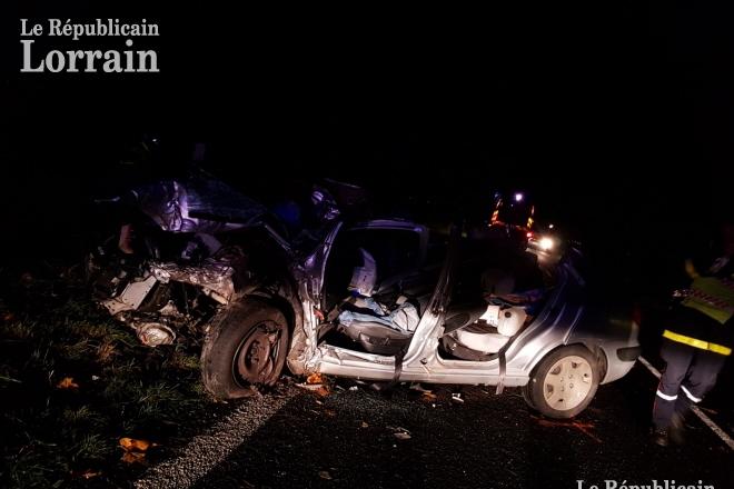 Edition De Briey Accident Entre Hannonville Et Mars La Tour