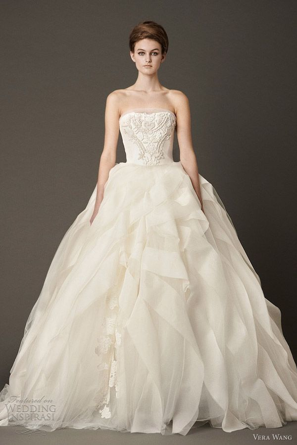 Vera Wang Wedding Dresses Fall 2013 | Ball gowns, Wedding dress and ...