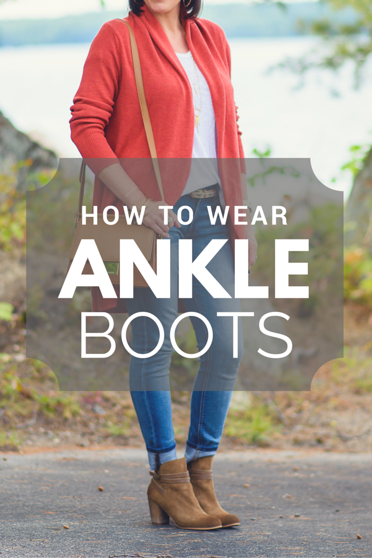 How to Wear Ankle Boots #howtowear