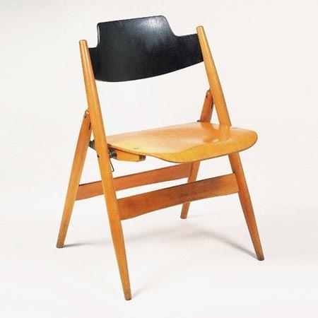 Folding chair SE 18 by Egon Eiermann #chair