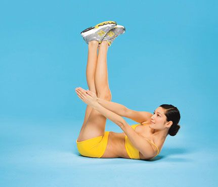 Skip the Gym With These Simple Ab Moves
