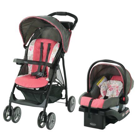 Graco Literider Lx Travel System Daphne Pink Travel Systems