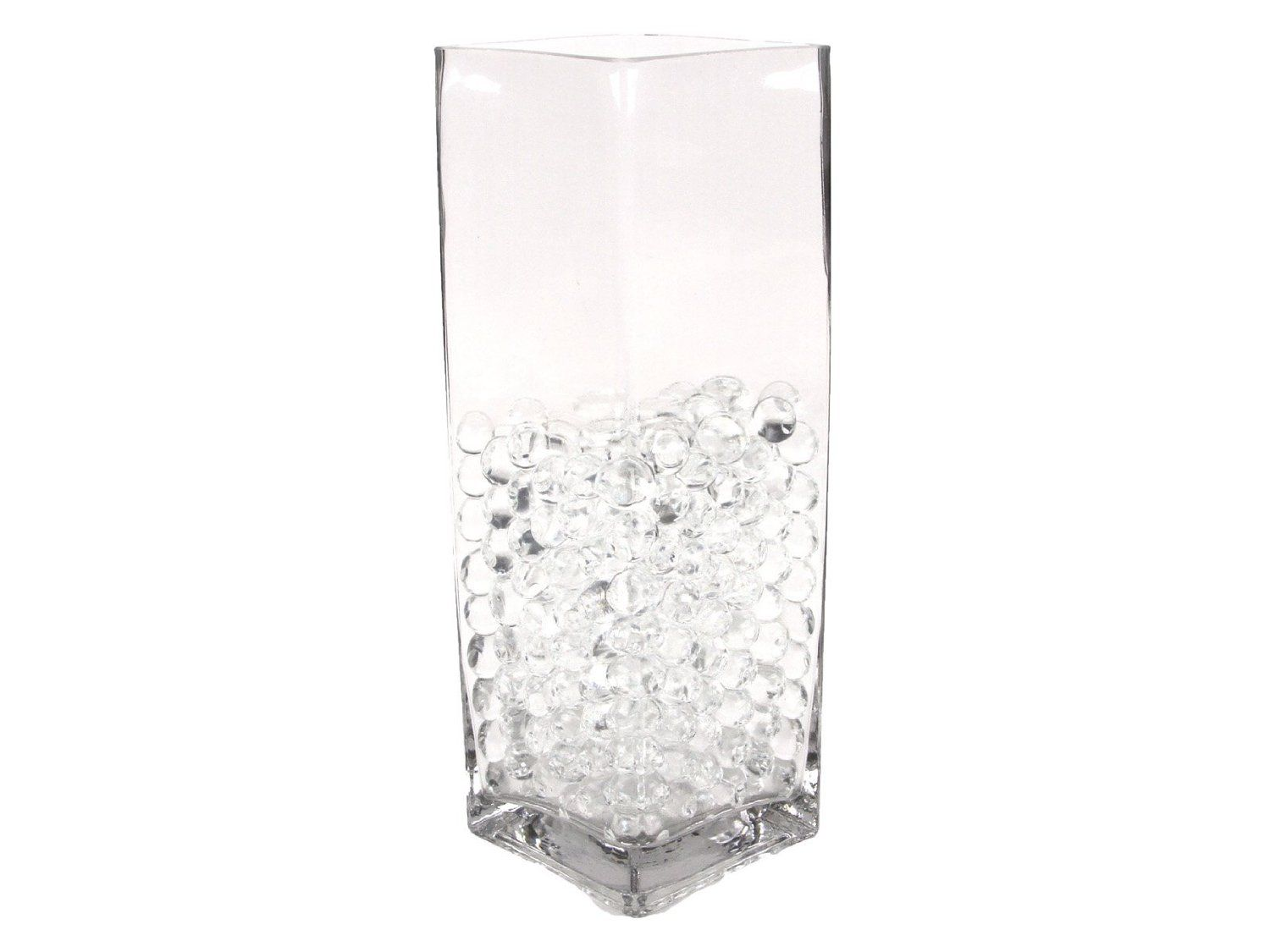 Amazon Com Water Pearls Clear Centerpiece Wedding Tower Vase Filler Makes 6 Gallons 8 Oz Pack Decorative Vases Arts Cr Vase Fillers Wedding Vases Water Beads