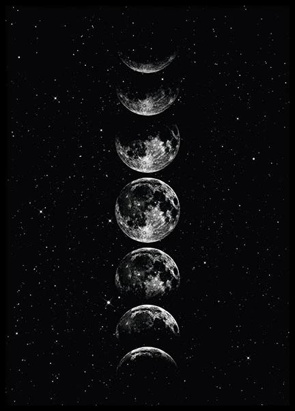 Moon Star Sky Affiche En 2020 Fond D Ecran Telephone Fond D Ecran Couleur Fond D Ecran Colore