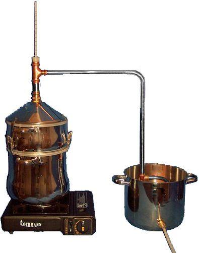 einfache destillieranlagen destille kaufen vom hersteller destillieren therisches l oder. Black Bedroom Furniture Sets. Home Design Ideas