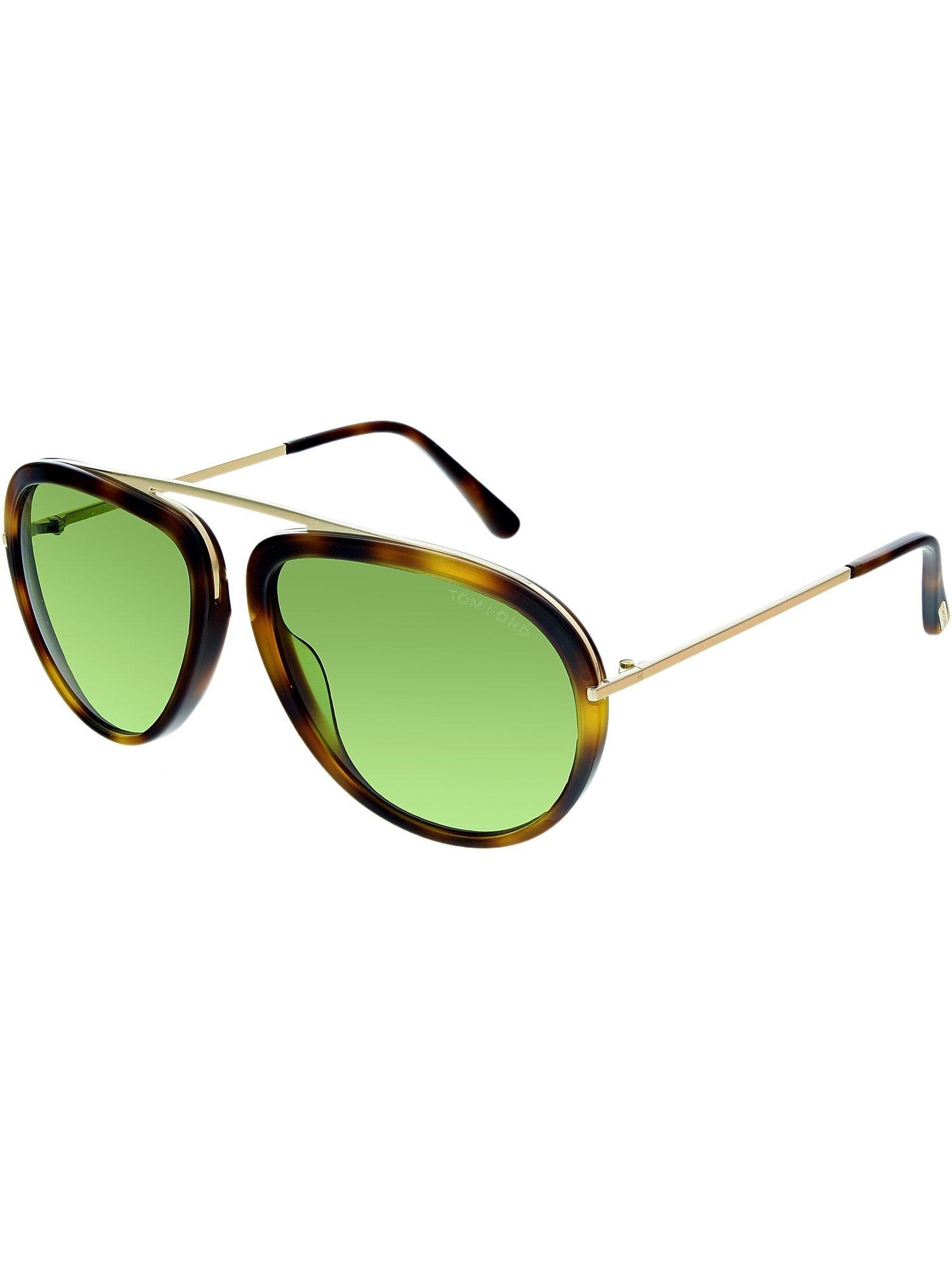 7da63e0b66b0c Tom Ford FT0452 Stacy Pilot Sunglasses