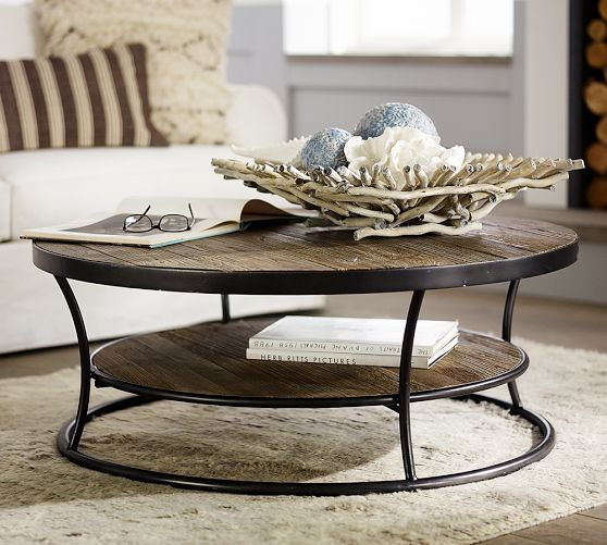 Bartlett Reclaimed Wood Coffee Table Coffee Table Pottery Barn - Pottery barn bartlett coffee table