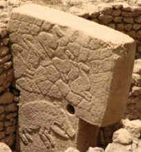 Gobekli Tepe, in Turkey. Discovered in 1963, 12000 years old.  Older than stone hindge and the pyramids. Amazing