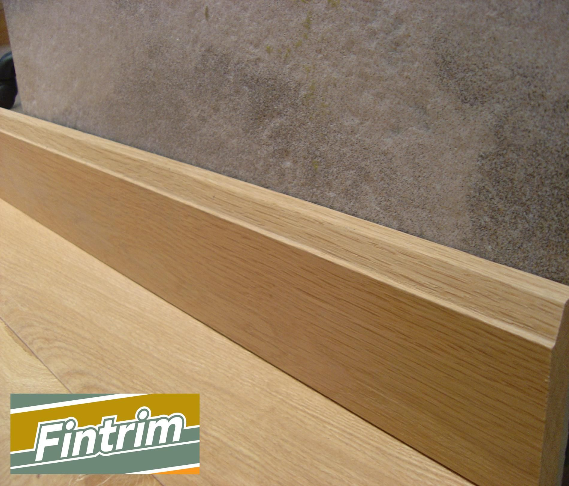 Hardwood skirting boards in chamfer finish woodwork for Hardwood skirting