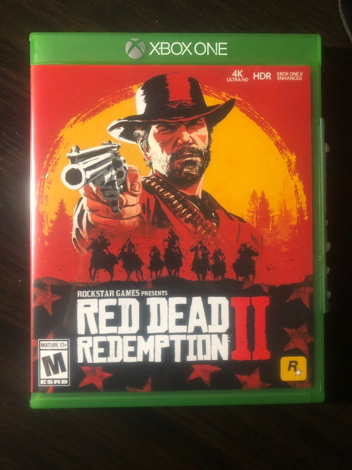 Like new, only used twice. Xbox one, Red dead redemption