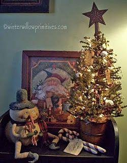 prim christmas primitive christmas decoratingchristmas decorating ideasprimitive - Pinterest Primitive Christmas Decorating Ideas