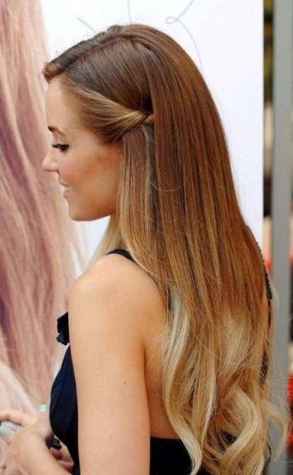 27 Trendy Hair Straight Long Simple