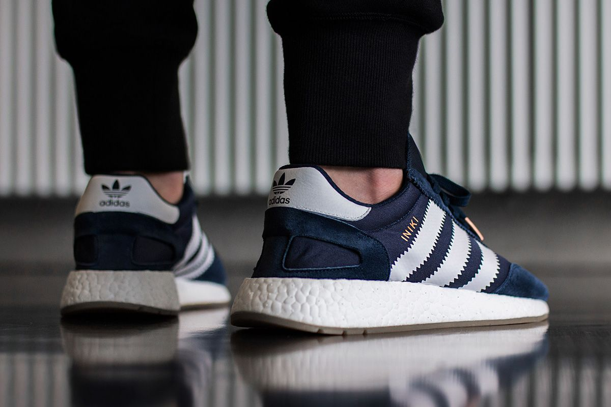 2538e492663 ... The adidas Iniki Runner Boost Navy is slightly influenced from the.