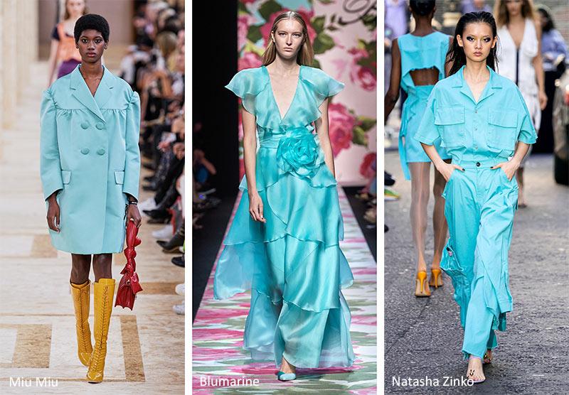 Spring/ Summer 2021 Color Trends: Spring 2021 Runway Colors | Color trends fashion, Summer color trends, Color trends