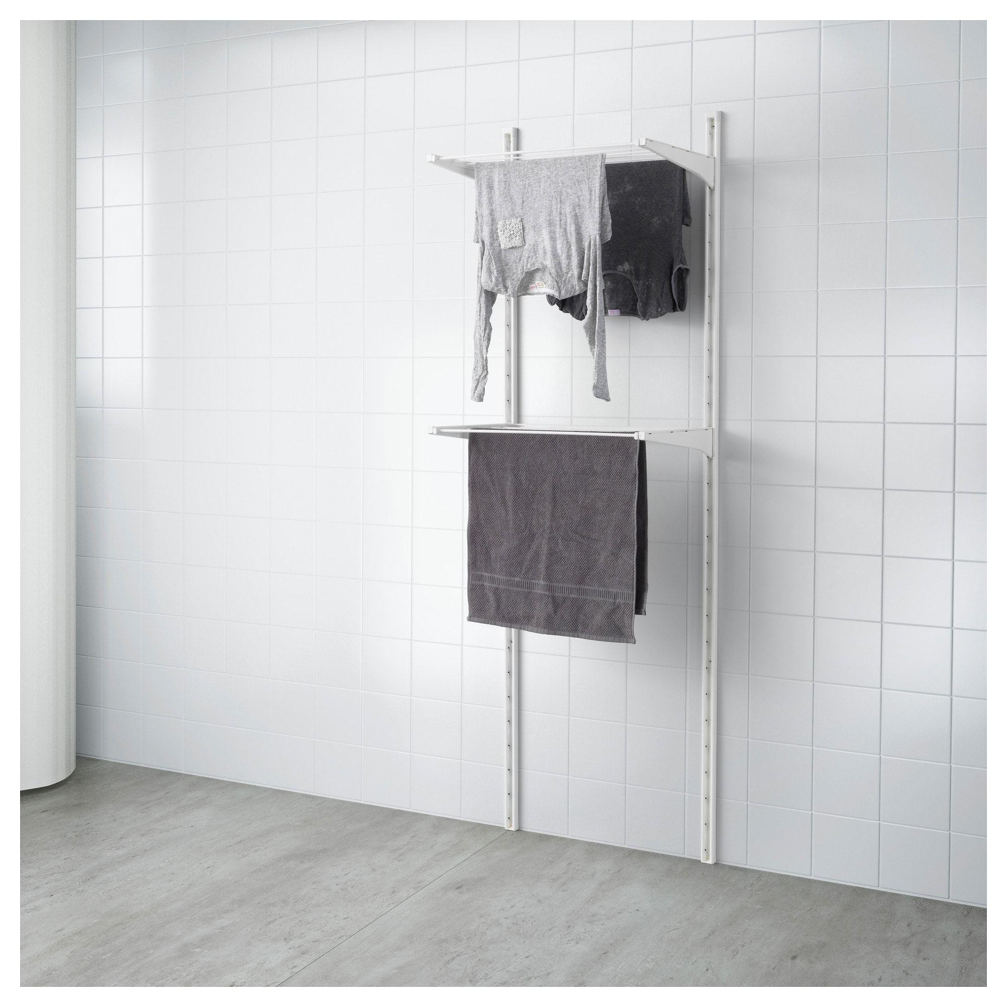 Ikea Algot White Wall Upright Drying Rack Ikea Algot Algot Ikea