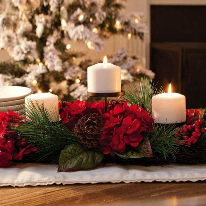 Préférence La bougie de Noël - un joli moyen pour décorer la maison  KJ05