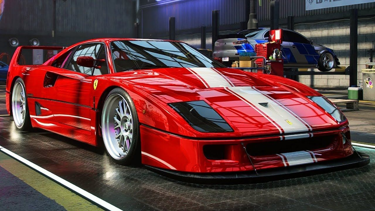 Ferrari F40 Build! Need for Speed Heat Part 57 in 2020