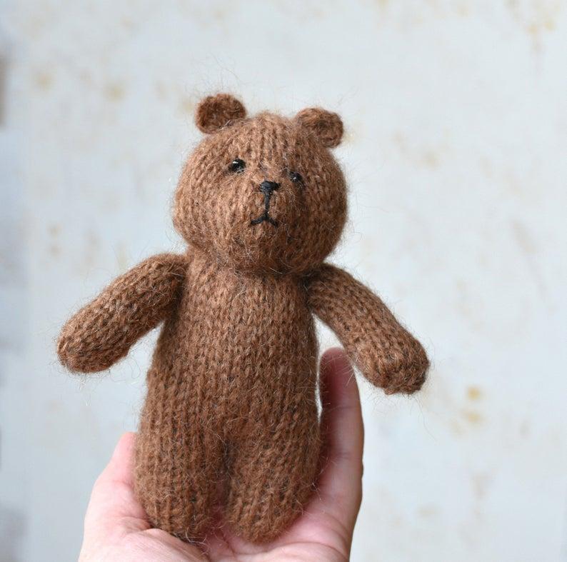 Stuffed Teddy Knitting pattern by FeltSoapGood Teddy Bear ...