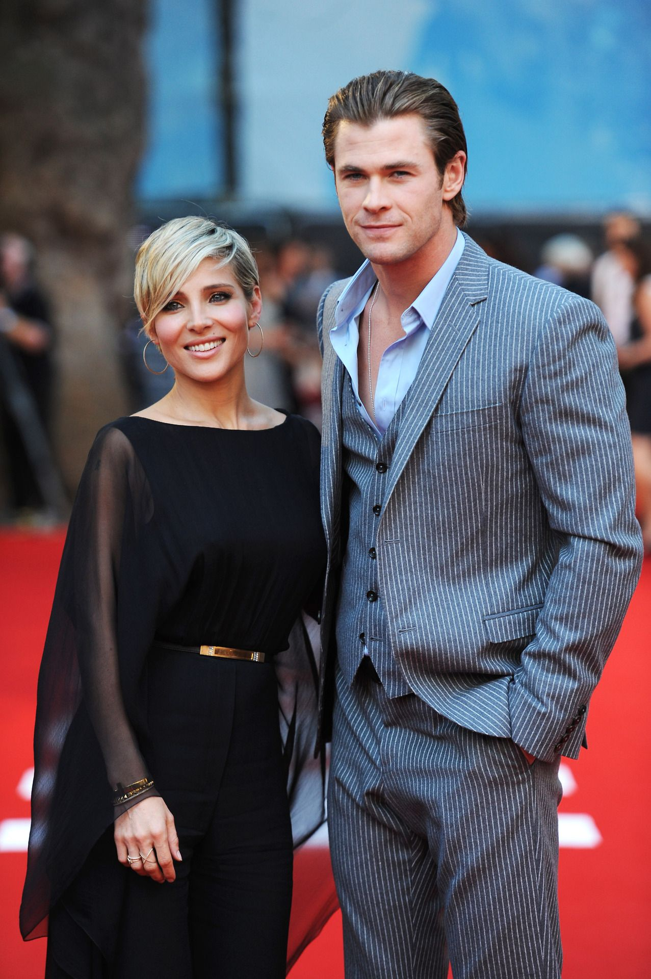Chris Hemsworth and Wife Elsa Pataky Favorite Actors