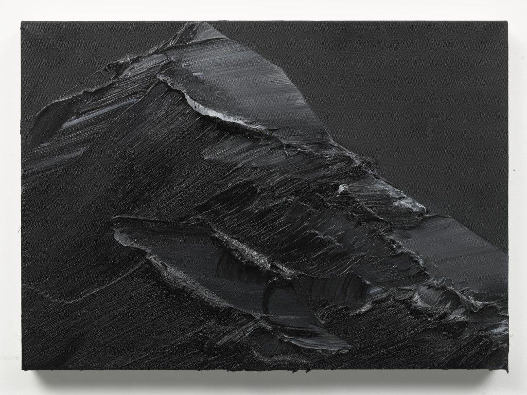 Conrad Jon Godly - dunkel 3,2010, 50x70cm, Öl auf Leinwand