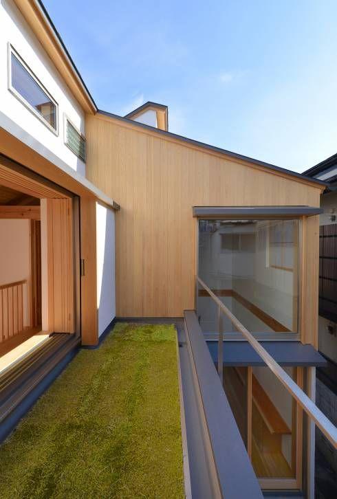 準耐火構造で建てられた小さな木組みの家 With Images Architecture Outdoor Decor Japanese Architecture