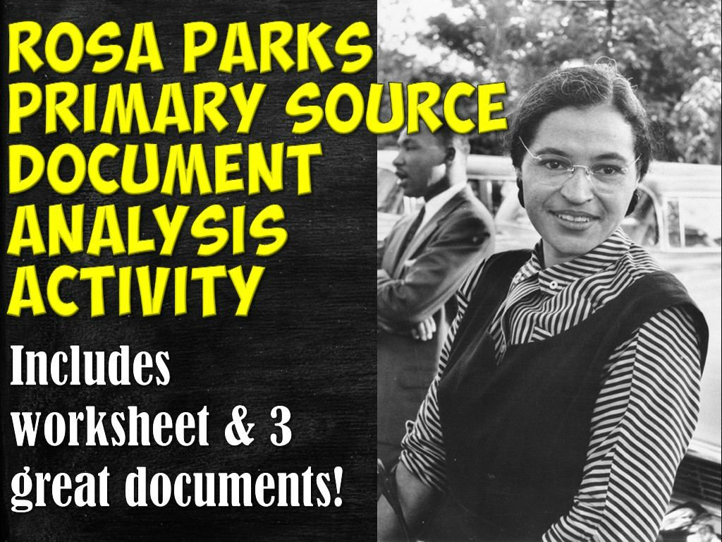 rosa parks primary source documents activity rosa parks arrest source documents and primary. Black Bedroom Furniture Sets. Home Design Ideas