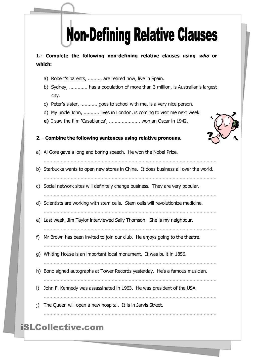 Relative Clause Worksheets Year 5 - Worksheet Pages alphabet worksheets, education, multiplication, learning, grade worksheets, and worksheets for teachers Subordinate Clause Worksheets 1440 x 1018