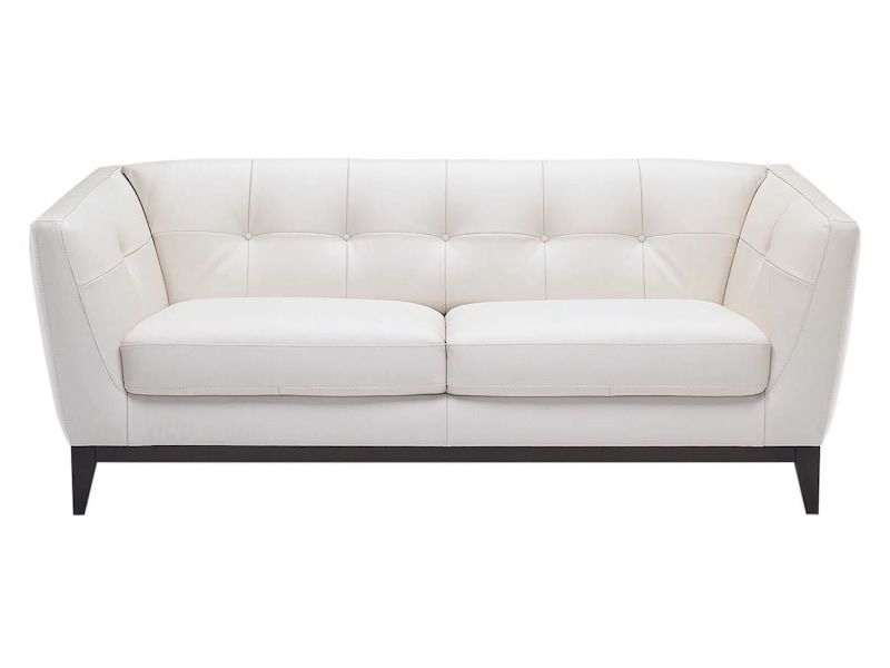 Marvelous Sofa By Natuzzi It Looks Great In This White Leather Forskolin Free Trial Chair Design Images Forskolin Free Trialorg