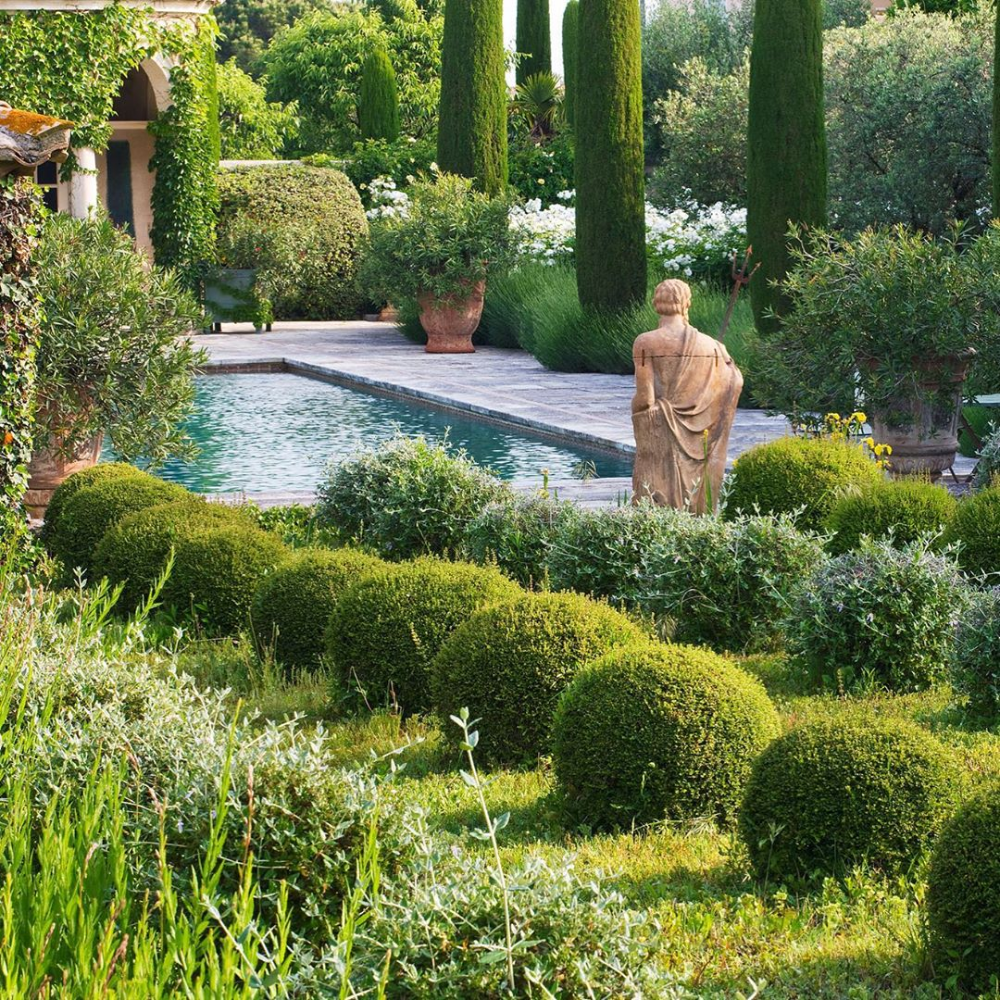Dreaming Of France I Was Lucky Enough To Shoot This Amazing Private Garden In St Remy Provence Desi In 2020 Australian Garden Design Landscape Design Amazing Gardens