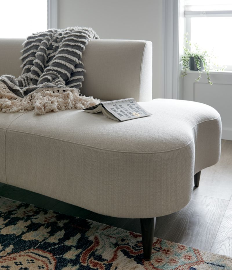 Best Bella Curved Chaise In 2019 Daybed Crate Barrel Sofa 400 x 300