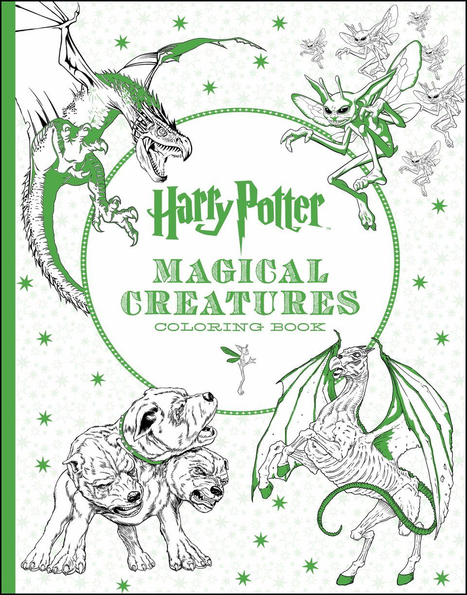 A \'Harry Potter\' Coloring Book Crawling With \'Fantastic Beasts\'