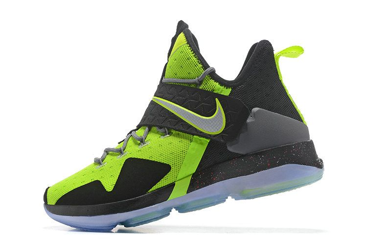 678e4f73f8a Legit Cheap LeBron 14 XIV Flash Lime Black New Image 2017 Mens Basketball  Shoes 2018 On