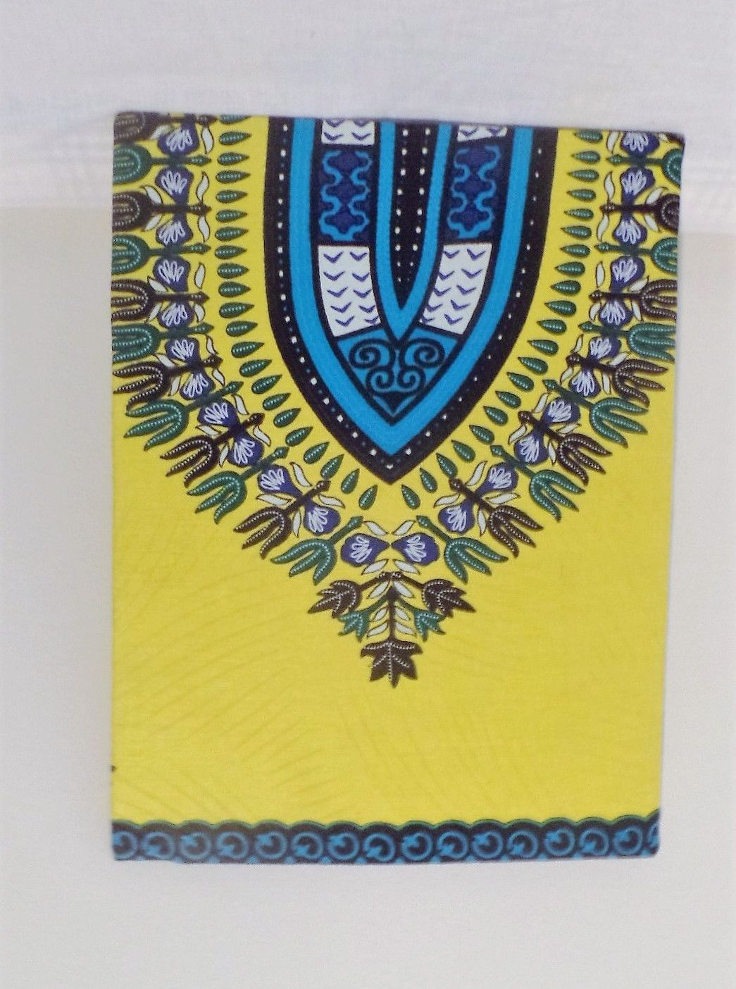 Yellow and Blue Dashiki Print Home/Wall Decor | Products