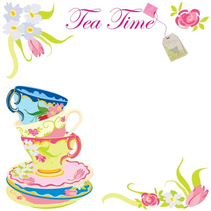 download now free printable tea party of baby shower invitation