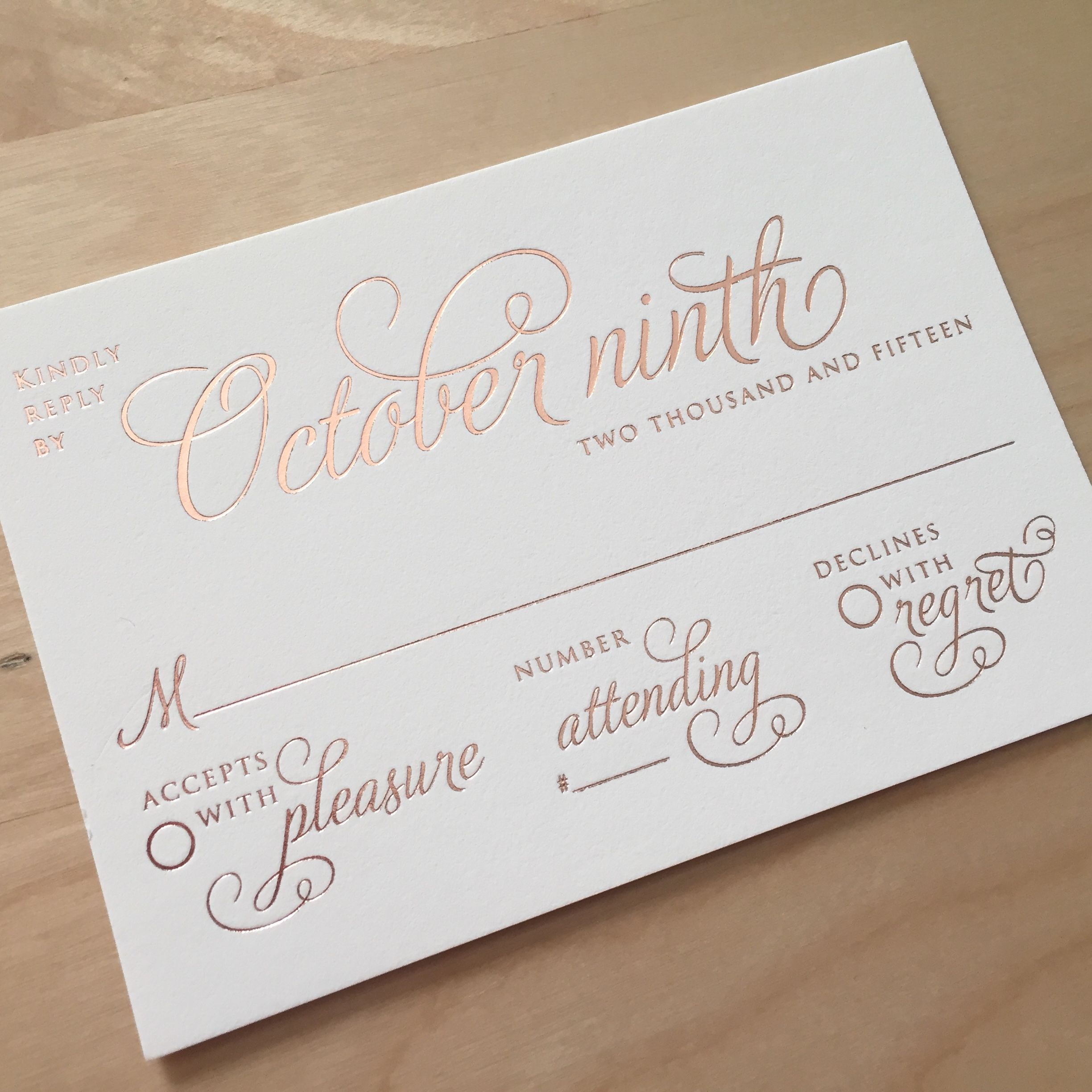 Wedding Invitation Response Cards: RSVP Response Card Wording