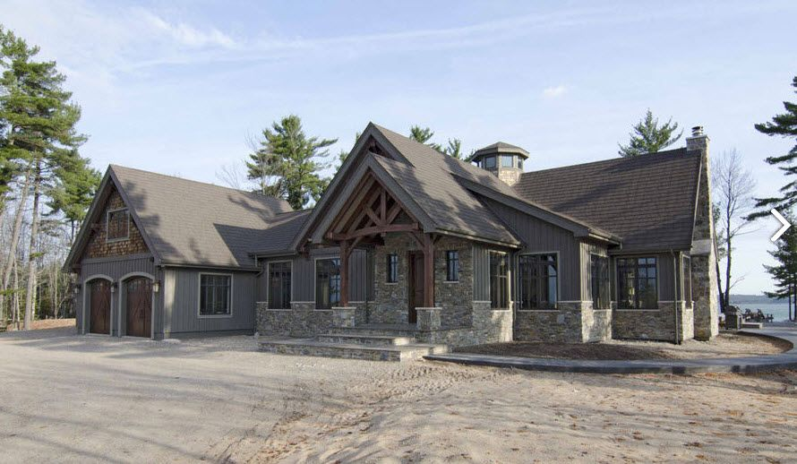 Mountain Home Craftsman House Plans House Exterior House