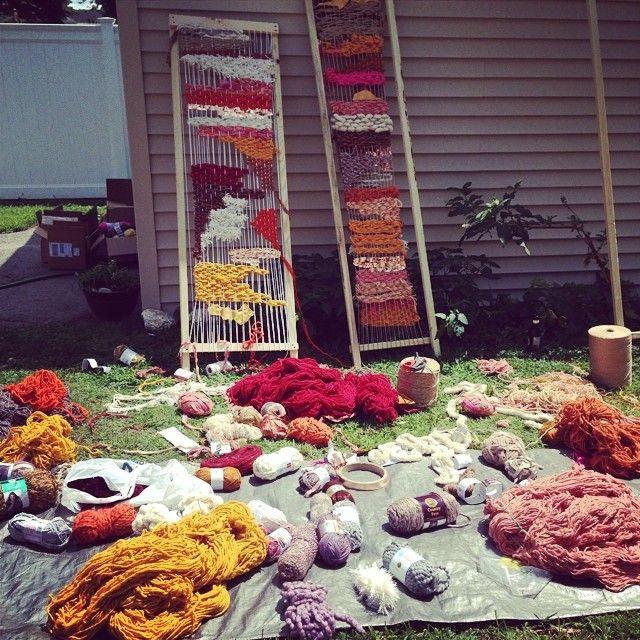 Display day! #weaving #display #diy