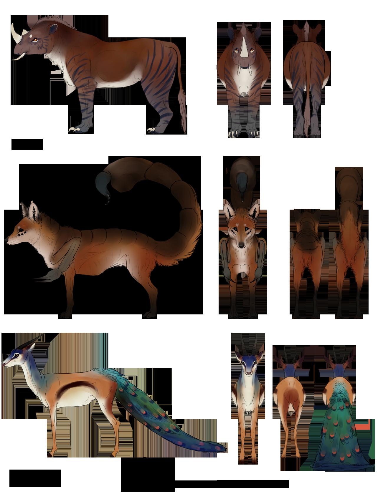 Worksheet Mythical Creatur mythical creatures 3 commission by cobravenom deviantart com on deviantart