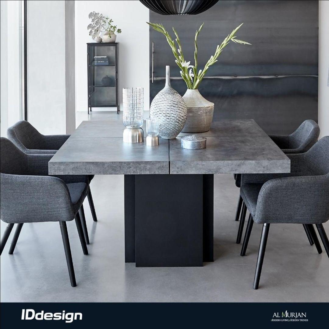 طاولة الطعام من مجموعة دسك الفخمة هي الاختيار المثالي لبدايات جديدة Dusk Dining Table Is The Perfect Choice For Living Dining Room Dining Table Chic Furniture