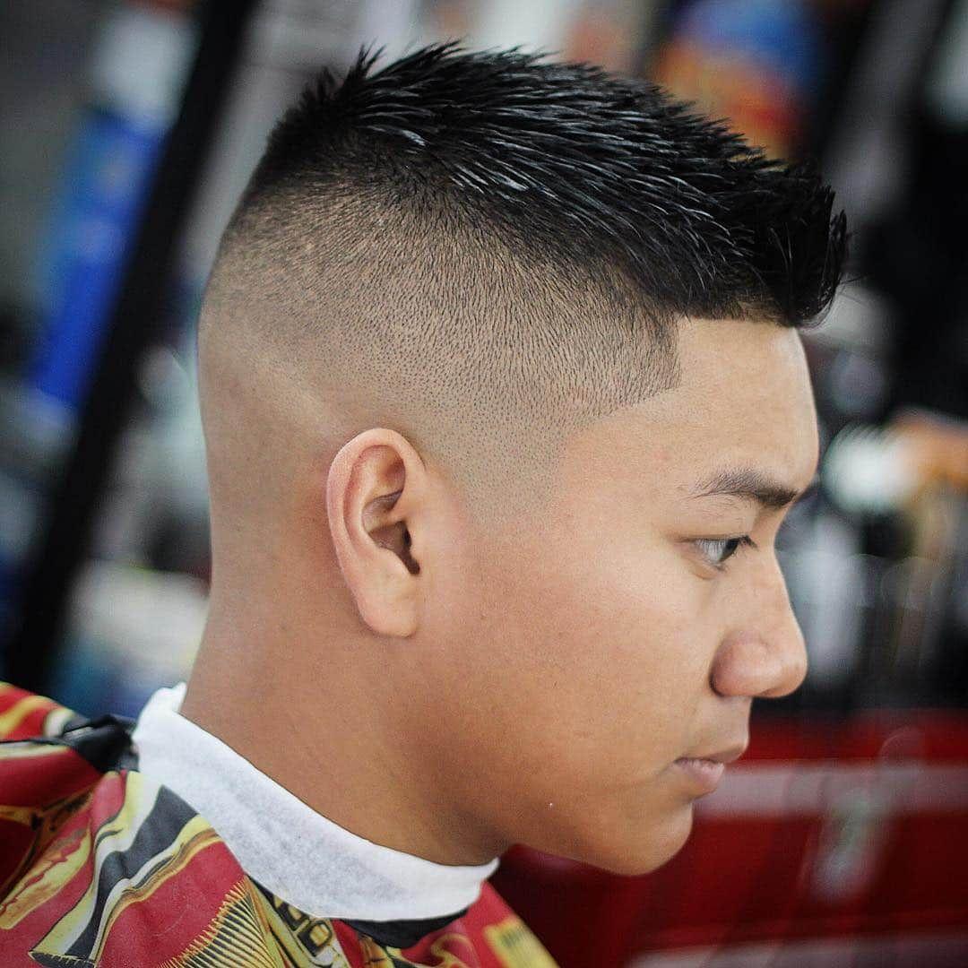 Crew Cut Fade Asian